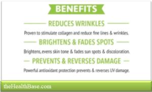 Benefits of Vit C