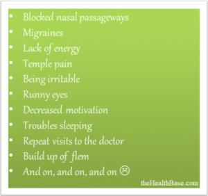 Allergy Downsides