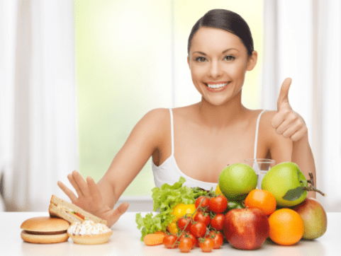 Healthy diet can prevent pimples