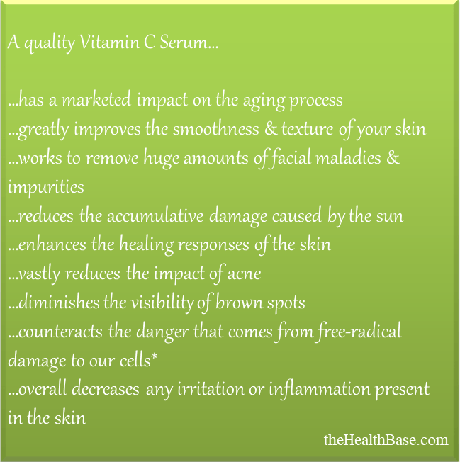 Benefits of VIt C Serums
