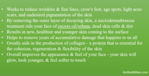 Benefits of Microabrasion