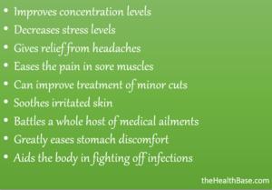 Benefits of EOs