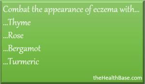 Essential oils to treat eczema