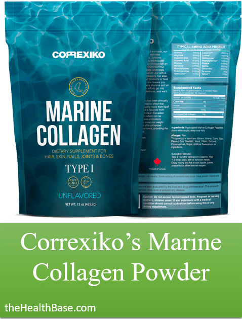 Marine collagen powder