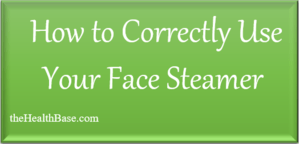 Using Your Steamer