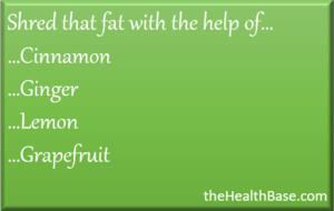 Essential oils to lose fat