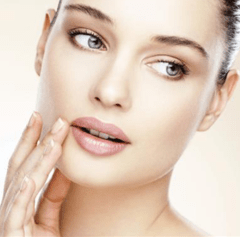 clear and healthy skin complexion