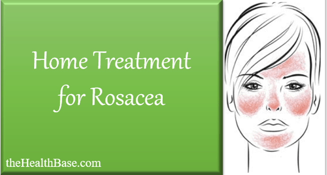 Treating Rosacea from home