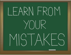 Learn from your mistake