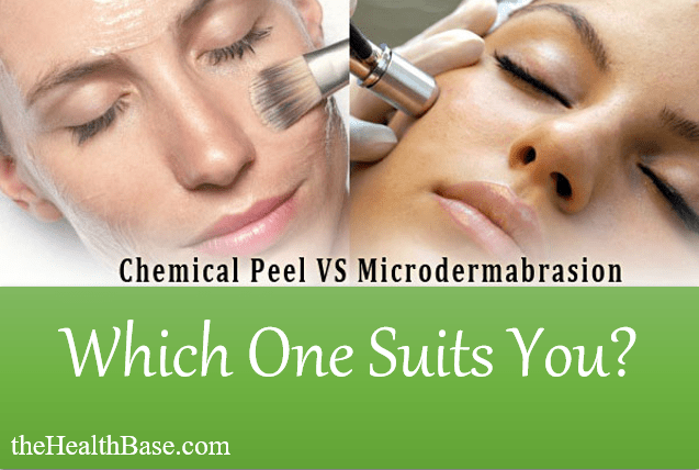 Microabrasion and chemical peel