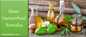 Hemorrhoid home treatment