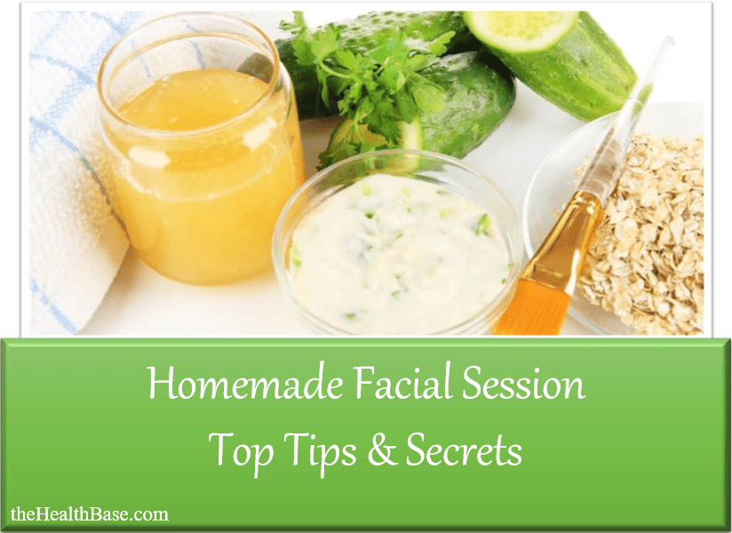 Facial treatment at home