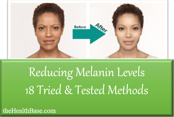 best ways to reduce melanin in skin