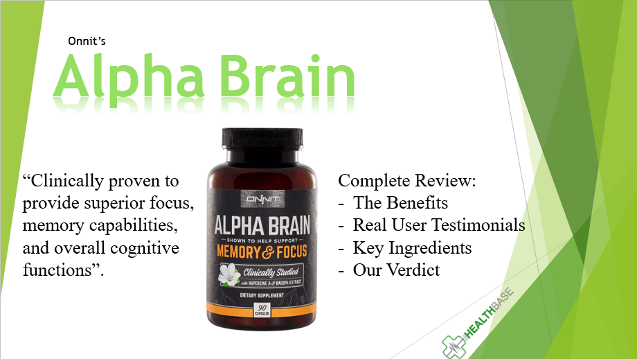 Onnit's Alpha Brain