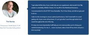 Tim Ferris review